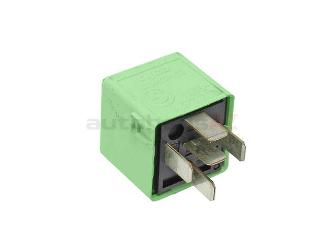61368373700 Genuine BMW Multi Purpose Relay; 5 Prong; Light Green