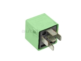 61368373700OE Genuine BMW Multi Purpose Relay; 5 Prong; Light Green