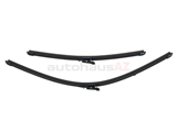 61612159629 SWF-Valeo Windshield Wiper Blade Set; Front; Left and Right; SET of 2; OE Type