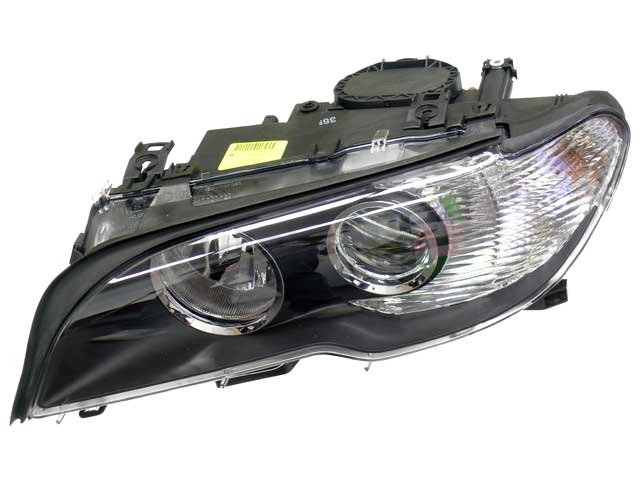 63127165907 Automotive Lighting Headlight; Left Halogen Assembly with White Turn Signal