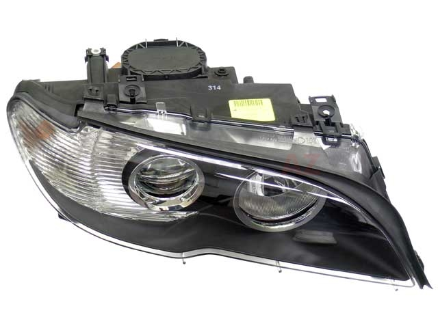63127165908 Automotive Lighting Headlight; Right Halogen Assembly with White Turn Signal