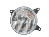 63128350136 Genuine BMW Headlight; Right Outer Low Beam; Standard