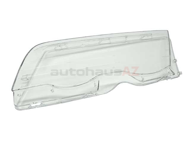 63128380189 Automotive Lighting Headlight Lens; Left, Plastic