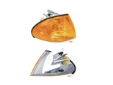 63136902766E URO Parts Turn Signal Light Assembly; Front Right Amber Lens Assembly