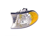63136905321 Genuine BMW Turn Signal Light; Left Assembly with White Lens