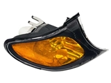 63137165860 TYC (CAPA Certified) Turn Signal Light; Front Right; Yellow Lens with Black Trim