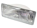 63171375067 Hella Fog Light Lens; Front Left - 6 1/2 X 2 3/4 inches