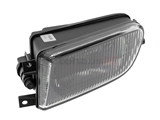 63178381977 ZKW Fog Light Assembly; Left Assembly; Fluted Late Version (Bulb Included w/ Assembly)