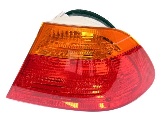 63218364726 ULO Tail Light Lens; Right Lens Assembly with Amber Turn Signal