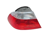 63218383825 ULO Tail Light; Left Assembly with White Turn Signal