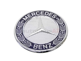 6388170116 Genuine Mercedes Emblem; Mercedes Hood Badge