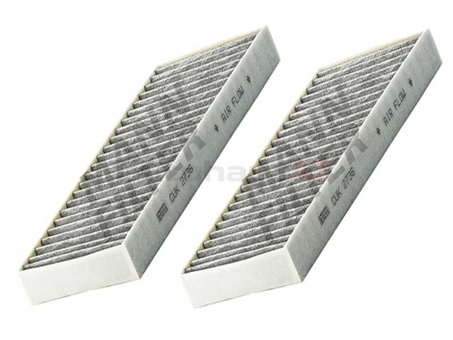 64110008138 Mann Cabin Air Filter Set; With Activated Charcoal, SET OF 2