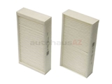 64119237159 Mann Cabin Air Filter Set; Standard; Recirculated Air; SET of 2