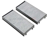 64316945586 Mahle Cabin Air Filter Set; With Activated Charcoal; Set of 2