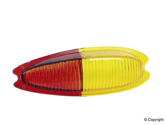 Custom Tail Light Lenses : Aftermarket tail light lens sku
