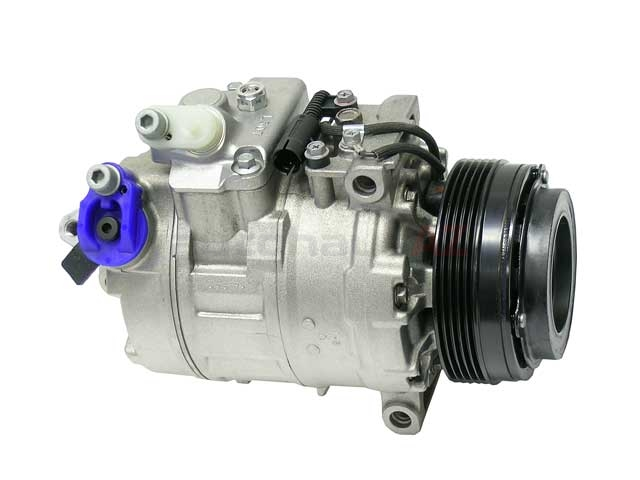 64526911340 Denso New AC Compressor; Complete with Clutch