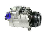 64526911340 Denso AC Compressor; Complete with Clutch