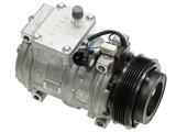 64528385915 Denso AC Compressor; Complete with Clutch and 5/6 Rib Pulley; New