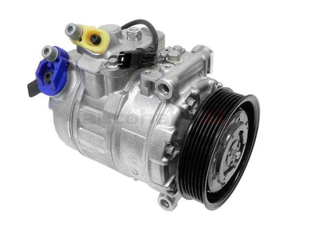 64529122618 Denso New AC Compressor; New; w/ Clutch