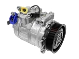 64529122618 Denso AC Compressor; New; w/ Clutch