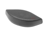 72118119186 Genuine BMW Seat Belt Mount Cover; Plastic Cover for Upper Seat Belt Mount Bolt; Front