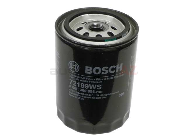 72199WS Bosch Workshop Oil Filter