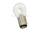7225 OES Multi Purpose Light Bulb; Dual Element Taillight/Rear Foglight/Stop Light Bulb with Offset Pins; 12V-21/4W