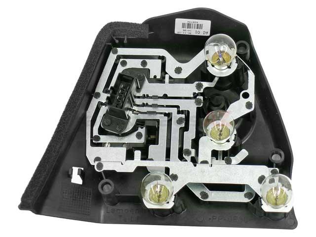 For BMW E46 Passenger Right Inner Tail Light Bulb Carrier Genuine 63217165744