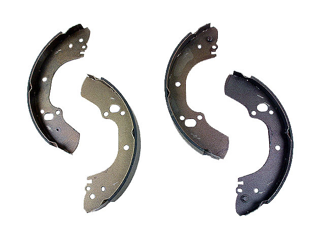 735 Enduro Brake Shoe Set; Rear