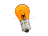 7507 Osram/Hella Multi Purpose Light Bulb; Amber Turn Signal Bulb; 12V-21W Single Filament