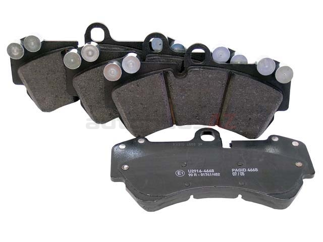 X AUTOHAUX 7L0698151 Front Brake Pad Electronic Wear Sensor Brake Pad Wear Indicators for Volkswagen Touareg 2004-2010