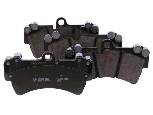7L0698151J Hella Pagid Brake Pad Set; Front; OE Compound