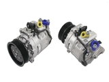 7L6820803PX Denso AC Compressor; With Clutch