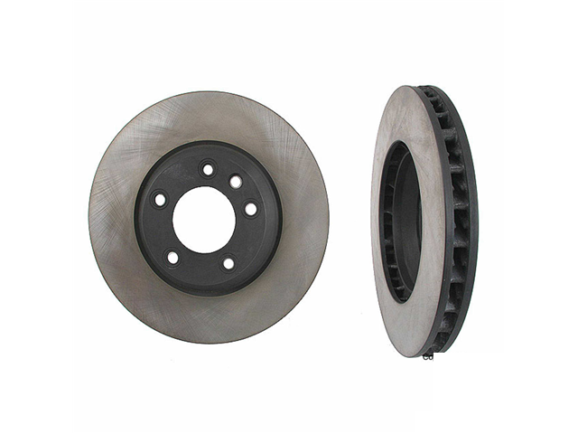 7L8615301 Original Performance Disc Brake Rotor; Front Left; Directional; Vented; 350x34mm