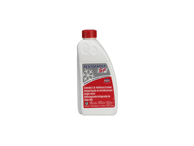 8114107 Pentosin Antifreeze/Coolant; Pentofrost SF; Nitrate, Amine, Phosphate free; Pink/Purple, 1.5 Liter