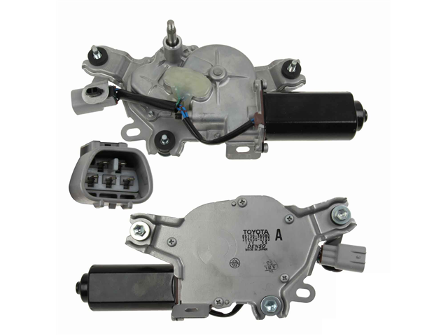 8513035080 Genuine Windshield Wiper Motor; Rear