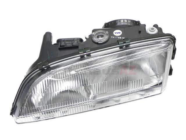 8628402E TYC Headlight Assembly; Left