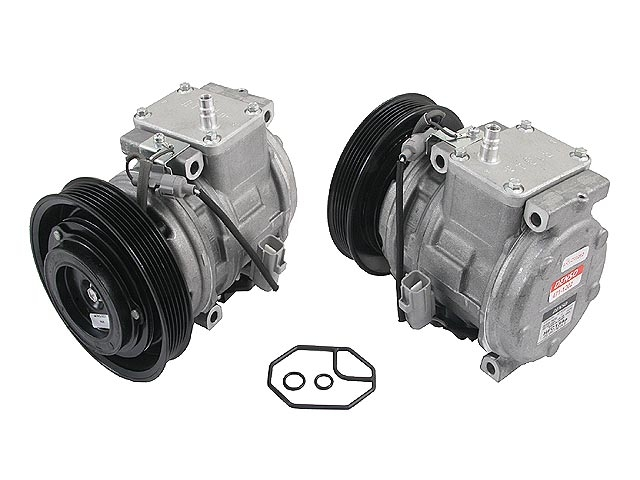 8832002050 Denso AC Compressor; New; w/ Clutch