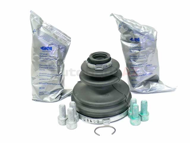 893498201B GKN Loebro CV Joint Boot Kit; Front Inner