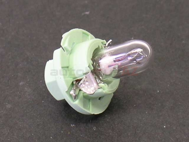 893919040A OES Instrument Panel Light; 12V/2W Bulb with Green Base