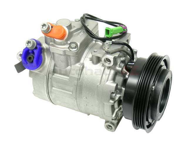 8D0260805J Denso AC Compressor; New; w/ Clutch