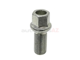 8D0601139D Febi Wheel Lug Bolt; M14-1.5 x 48mm Overall Length; 17mm Hex