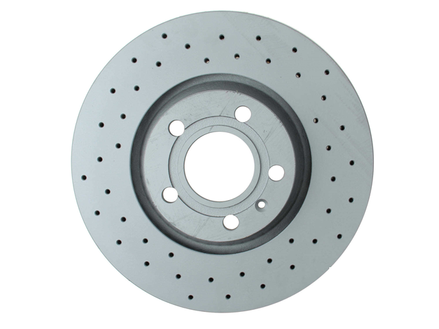 8D0615301JSP Zimmermann Sport Disc Brake Rotor; Front ; Vented 312x25mm; Cross-Drilled