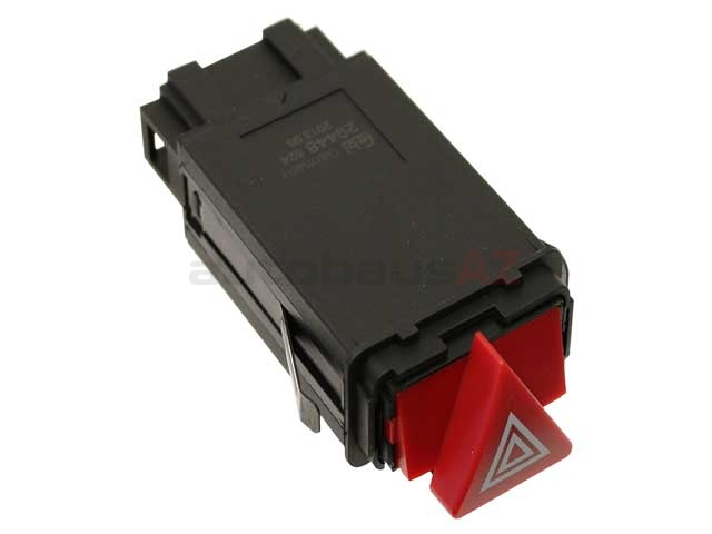 8D0941509H01C Febi Hazard Warning Switch; With Integral Turn Signal/Flasher Relay
