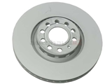 8E0615301R Zimmermann Coat Z Disc Brake Rotor; Front; Vented 312x25mm