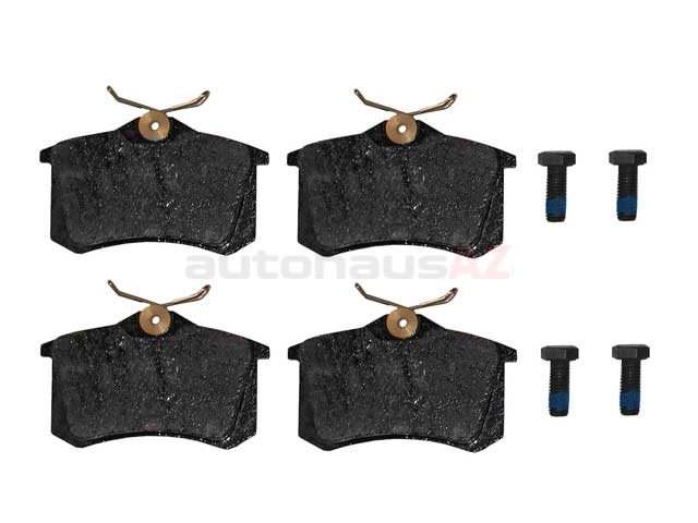 8E0698451A Pagid Brake Pad Set; Rear; German OE Compound