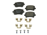 8E0698451F Textar Brake Pad Set; Rear; OE Compound