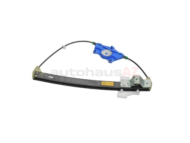 8E0839461C Genuine Audi Window Regulator; Rear Left without Motor