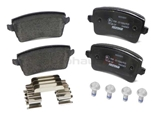 8K0698451D Textar Brake Pad Set; Rear; OE Compound