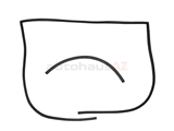 90151190102 O.E.M. Hood Seal; Front Lid; 2 Piece Set